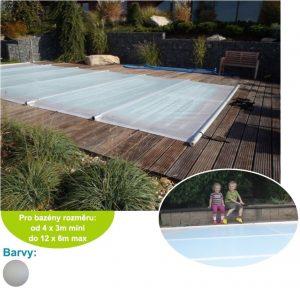 Bezpečnostní bazénová plachta Solar