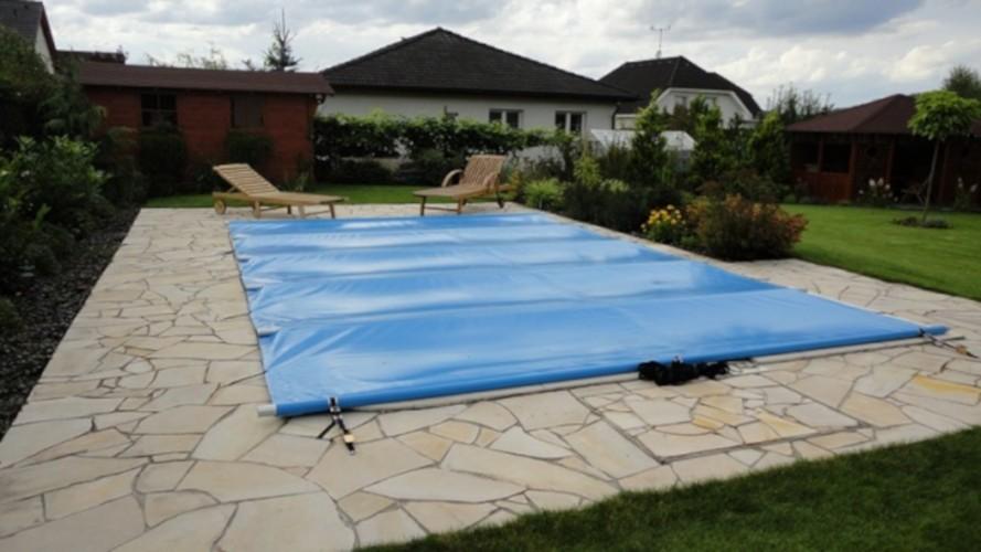 Bezpečnostní bazénová plachta